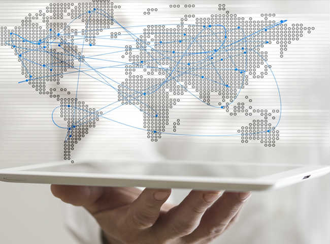 <p>Your clients' and suppliers' market no longer has borders…</p><p>From now on, it's global!</p>